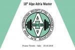 18° Alpe Adria Master International Weightlifting Tournament Fiume Veneto (ITA) 19-21 of october 2018