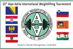Results Book 55° Alpe Adria International Weightlifting Tournament